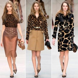 From the Burberry Fall 2013 collection.